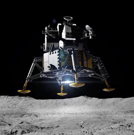 LEGO Creator Expert 10266 Lunárny modul NASA Apollo 11
