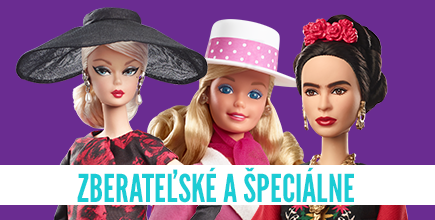 barbie zberatelske a specialne