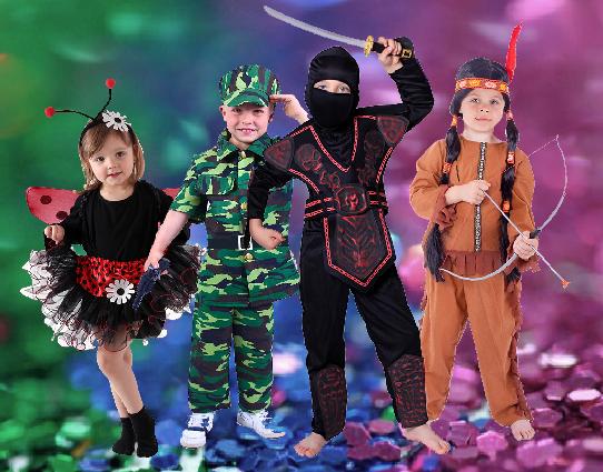 kostýmy maškarný masky
