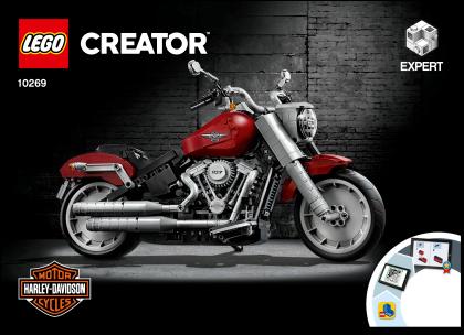 LEGO Creator Expert 10269 Motorka Harley Davidson Fat Boy
