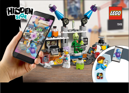 LEGO Hidden Side 70418 J. B. a jej laboratórium plné duchov