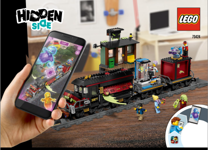 LEGO Hidden Side 70424 Vlak duchov