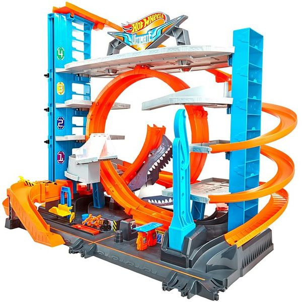 Mattel Hot Wheels FTB69 City garáž so slučkou