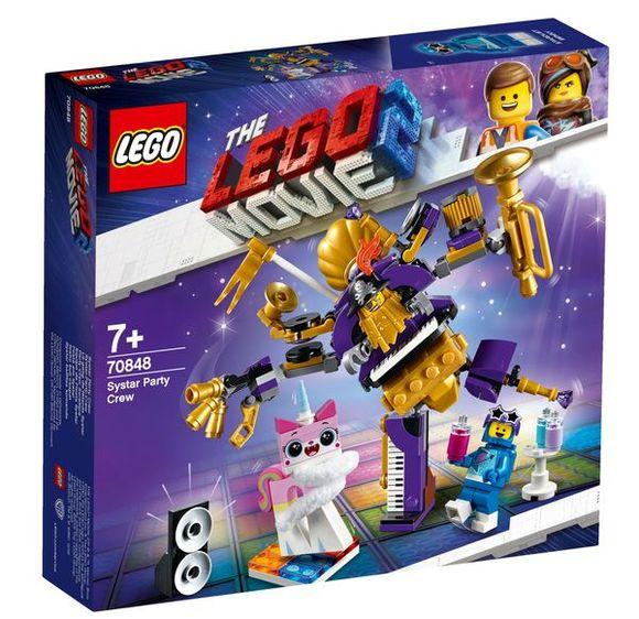 LEGO LEGO Movie 70848 Párty partia zo Sestrióna